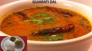 Pure Veg Gujarati Dal Recipe - Khatti Meethi Dal by Home Kitchen