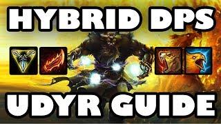 Hybrid Tiger & Phoenix | Mixed DPS Udyr Jungle Guide [7.12]