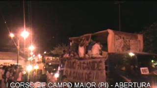 I CORSO DE CAMPO MAIOR PI   CARNAVAL 2013