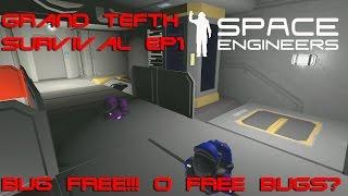 Space engineer: Grand Tefth Survival EP1