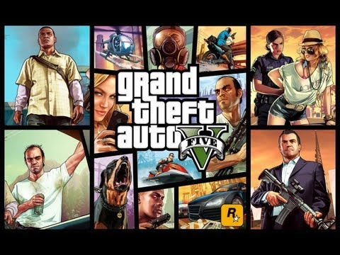 Grand Theft Auto V GTA 5 Story All Cutscenes Game Movie HD w Gameplay