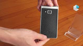 VKWorld T2 Plus flip phone with dual screen, titanium frame and Android
