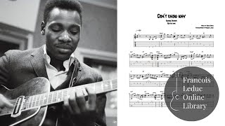 Don't Know Why - George Benson (Transcription)