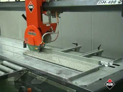 RUBI DM 400 Cortadora de mármol RUBI marble cutter