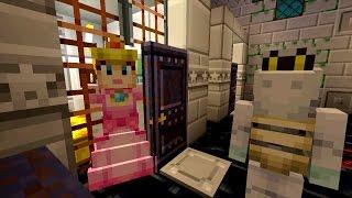 Minecraft Wii U - Super Mario Series - Peach Goes to Jail! [115]