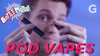 We Tested Juul Against Other Pod Vapes | Battlemodo