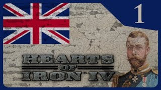 Hearts of Iron IV - The Great War #1 Ahistorical British Empire