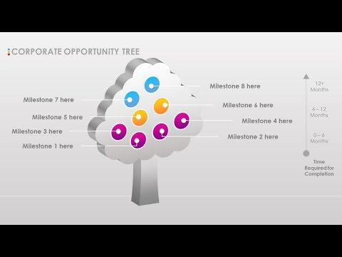 Xxx Mp4 3D Creative Stunning Opportunity Tree PPT Template Free Download Project Management 3gp Sex
