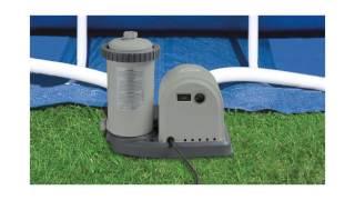 Intex 1500 GPH Easy Set Pool Filter Pump with Timer & GFCI | 28635EG (56635EG)