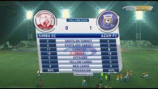 Azam TV - MAPINDUZI CUP, FULL HIGHLIGHTS: SIMBA 0-1 AZAM FC