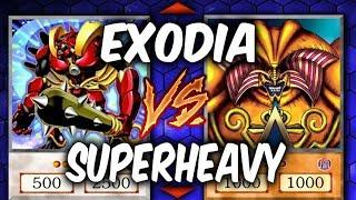 DANGER! EXODIA VS SUPERHEAVY SAMURAI (Yugioh Competitive Duel)