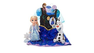 Disney Frozen Musical LightUp Doll   Dress Bundle with O...