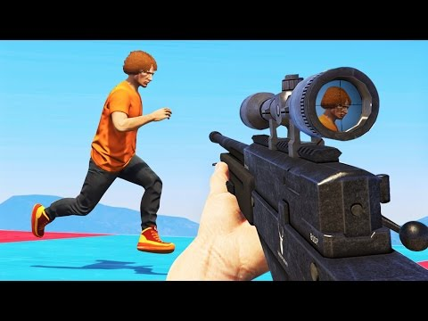 SNIPERS vs. SUPER RUNNERS GTA 5 Funny Moments