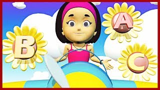 Abc Song | Learning Alphabets | KidRhymes