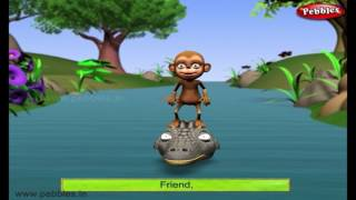 Monkeys Heart | Jataka Tales in English | Moral Stories For Children in English