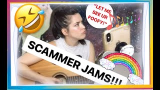 SCAMMER JAMS!! - Singing and TROLLING a rude homophobic scammer! SSA #scambaiter #IRLrosie