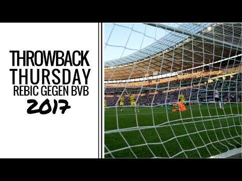 TBT | Ante Rebic trifft im Pokalfinale | Eintracht - Dortmund