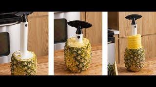 Ananası rahat kəsməyin yolu