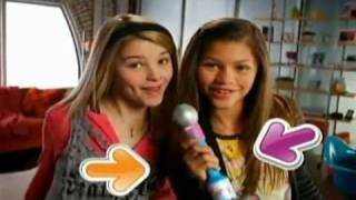 Zendaya Coleman and Stefanie Scott in iCarly Fashion Switch Figures - Commercial
