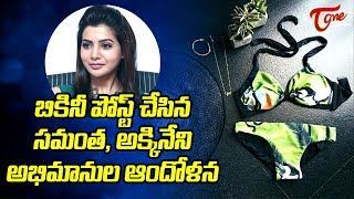 Akkineni Fans Unhappy Over Samantha Bikini Posts #FilmGossips