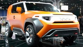Toyota FT-4X Concept - 2017 New York Auto Show