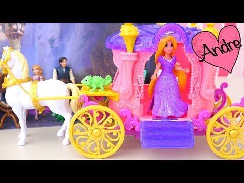 Unos ladrones tratan de robar el cabello de Rapunzel y revisión de juguetes de Enredados