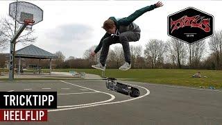 How to Heelflip - einfach und schnell Skateboard Tricks lernen (deutsch/german)