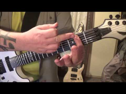 Cutting Crew - (I Just) Died In Your Arms - Guitar Lesson by Mike Gross