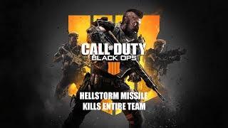 Black Ops 4 l Hellstorm Missile KILLS entire team in S&D tutorial mode