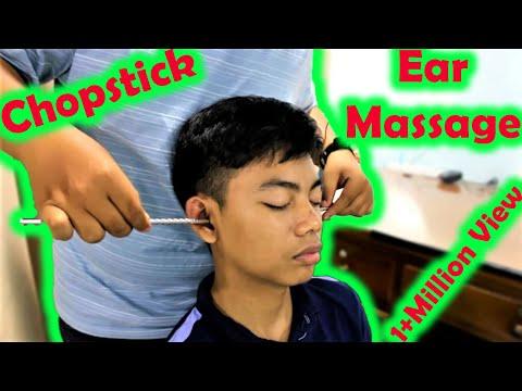 Xxx Mp4 Relaxing Chopsticks Head And Ear Massage ASMR Sound 3gp Sex