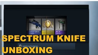 YES!!! SPECTRUM KNIFE UNBOXING!!
