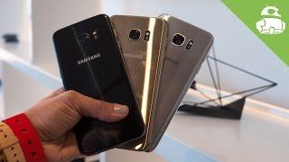 Galaxy S7 Edge Color Comparison