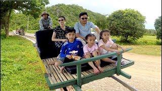 LORI or Bamboo Train at Phnom Banon in Battambang Province