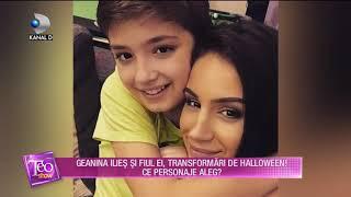 Teo Show (31.10.2018) - Geanina Ilies si fiul ei, transformari de Holloween! Ce personaje au ales?