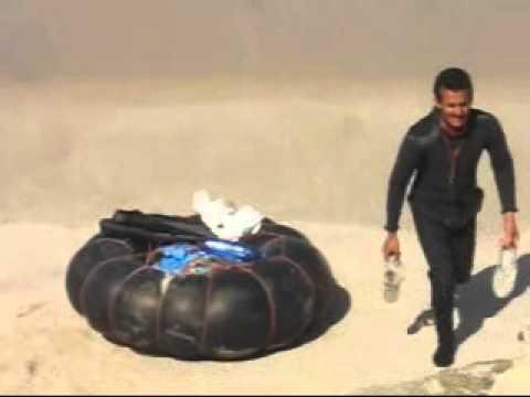 2009 Maroc Dakhla Pêche à la Bouée Dans L Atlantic