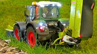 REAL RC TRACTOR`S! FENDT! CLAAS! MB TRAC! JOHN DEERE!