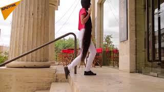 دختری با بلند ترین موی دنیا