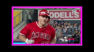 Breaking News   Mike Trout sends homer into the second deck in Yankee Stadium (VIDEO)