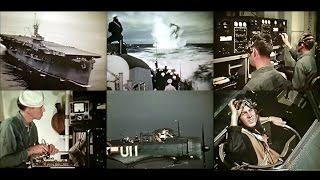 WW2 U.S. Navy Radiomen: Vacuum Tubes, Navigation & Gunnery (Restored Color 1944)