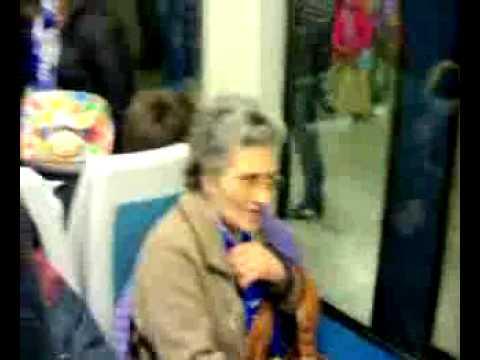 Portista no metro