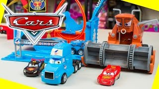 Disney Cars Lightning McQueen Toys Color Changers Playsets by Mattel Toy Cars Kinder Playtime