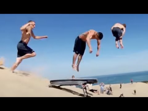 PEOPLE ARE AWESOME 2016 BEST TRAMPOLINE TRICKS EDITION
