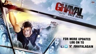 Ghayal Once Again | HD Official Trailer | Sunny Deol First Look | 2015