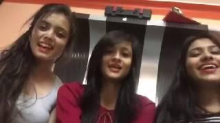 Whatsapp comedy video  Three girls sing funny sweet  song