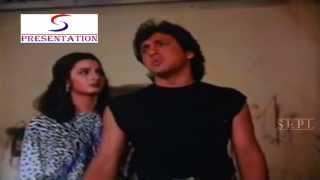 Govinda Saying His Past To Farha Naaz @ Halaal Ki kamai - Govinda, Farha Naaz, Shakti Kapoor