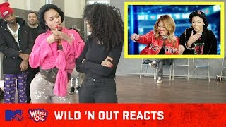 Pretty Vee & Teresa Top Notch Give a Peek into their Wild 'N Out Debut 🙌 | Wild 'N Out Reacts | MTV