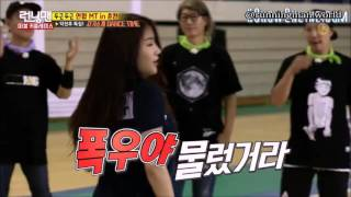 SISTAR and Kwangsoo dancing to I like that [Eng Sub]