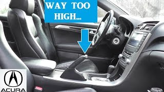 Hand Brake Fix | Acura TL | Major and Minor Adjustments