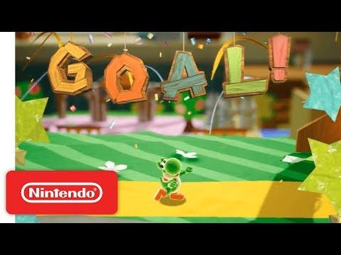 Yoshi Working Title Demonstration Nintendo E3 2017
