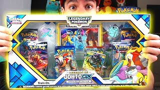 HYPER RARE PULL! - Opening NEW POKEMON Legends of Johto GX Pokemon Cards Box from GAMESTOP!